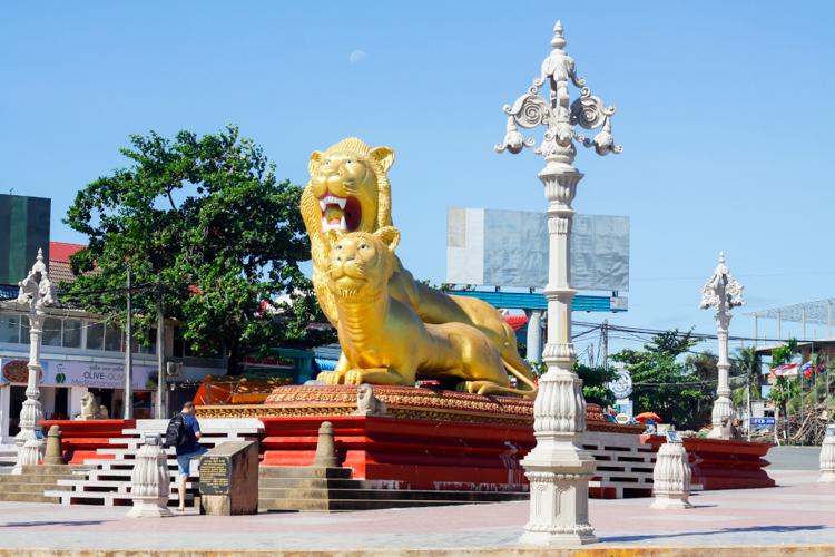 lwy Sihanoukville w Kambodży