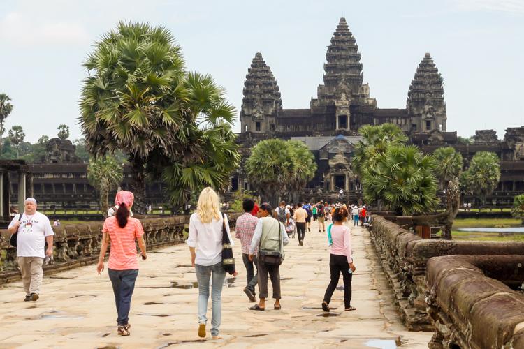 Angkor Wat w Kambodży