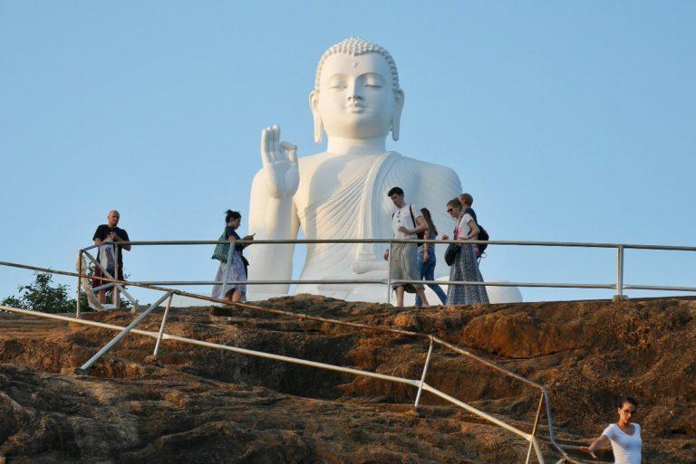Budda Mihintale na Sri Lance
