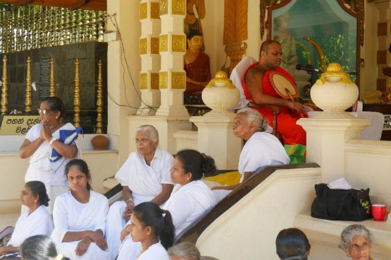 świątynia Zęba w Kandy na Sri Lance