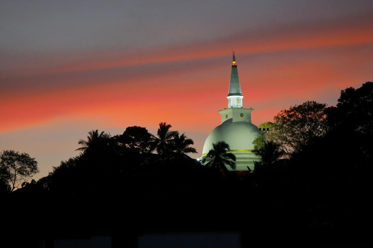 świątynia w Kandy na Sri Lance
