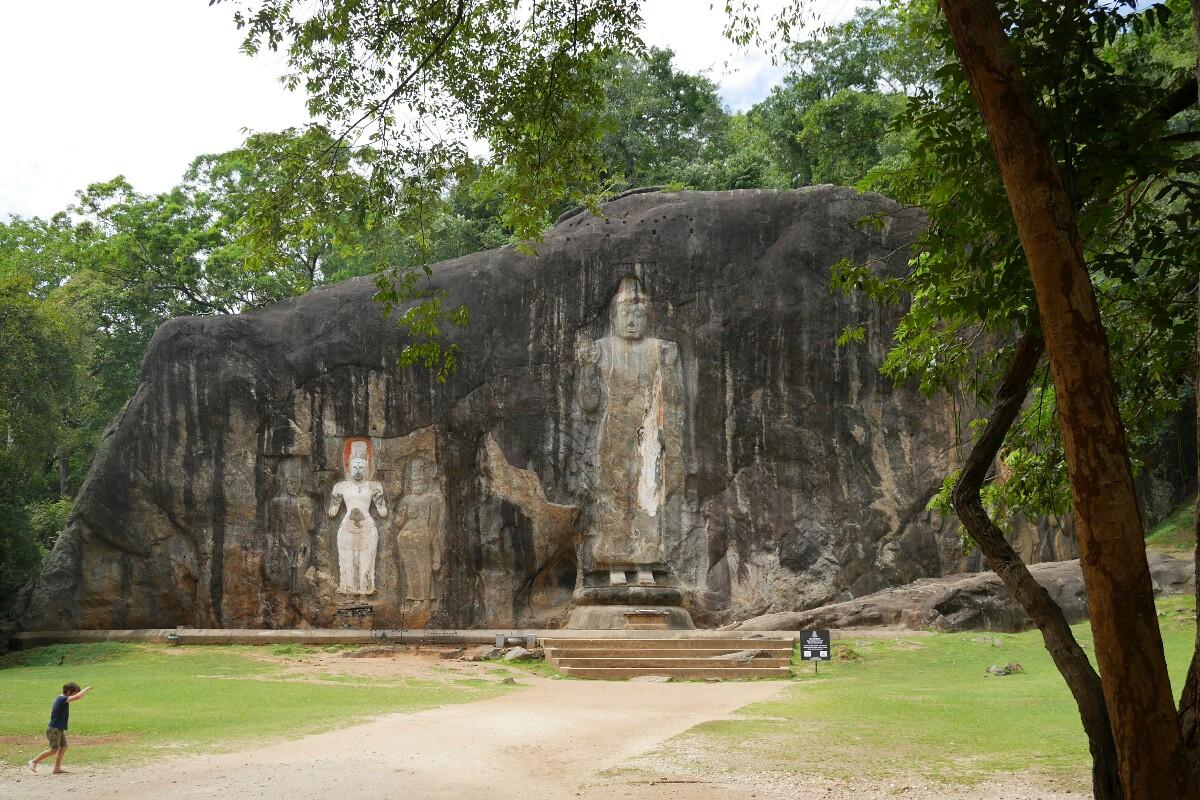 Buduruwagala na Sri Lance
