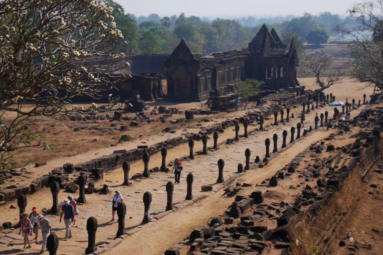 Pałac Północny w Wat Phou