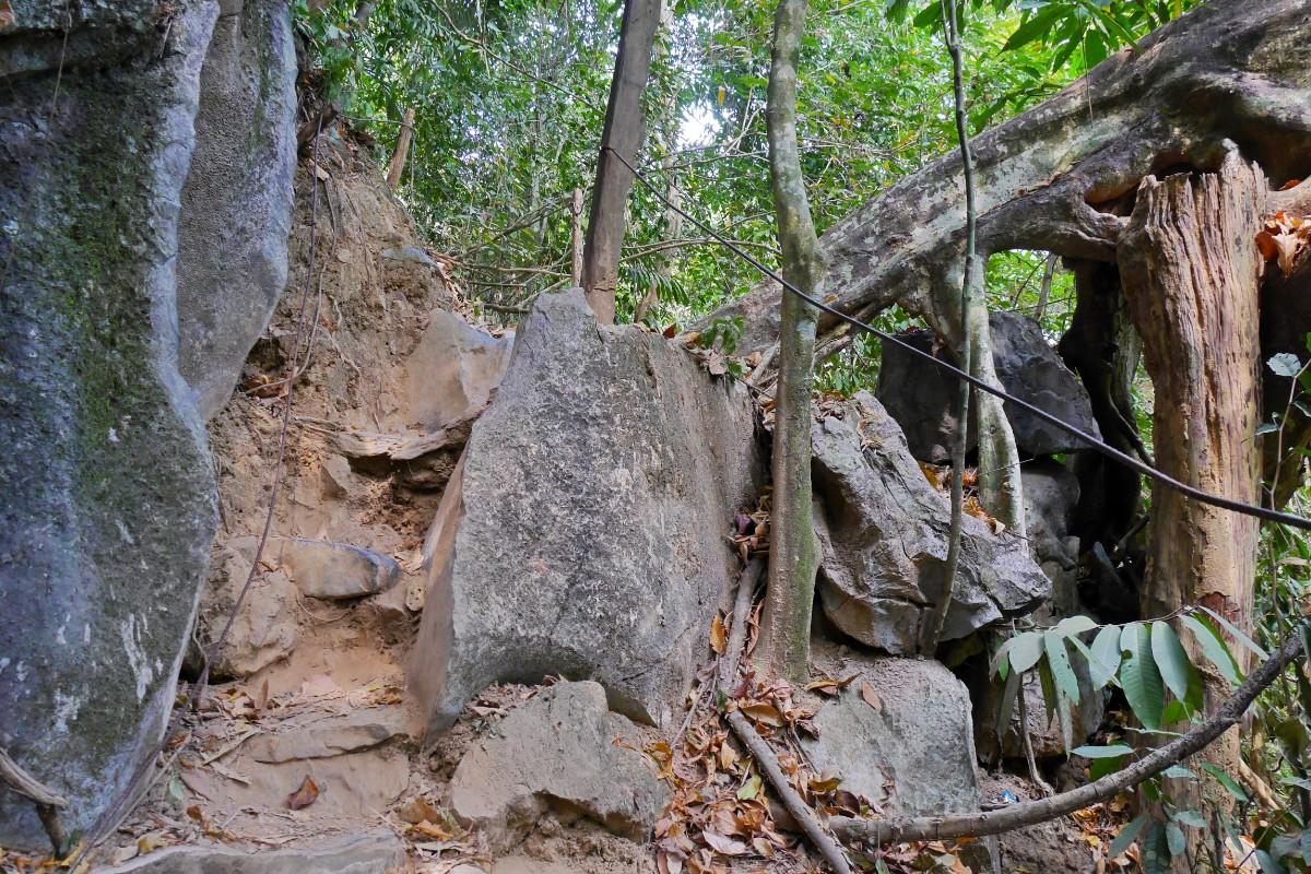 góra Phangern niedaleko Vang Vieng w Laosie