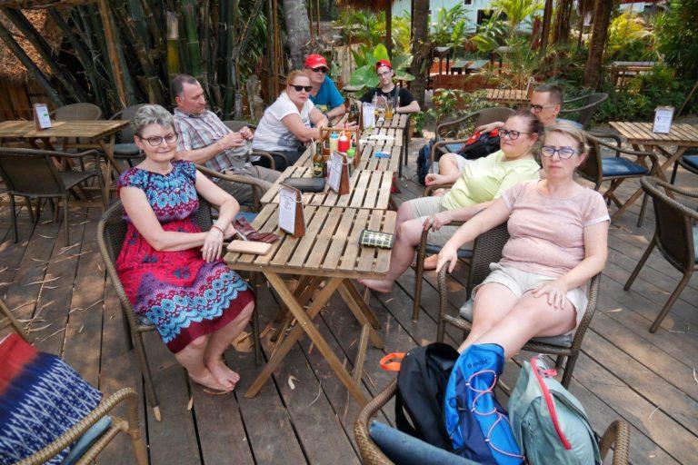 restauracja w Luang Prabang w Laosie