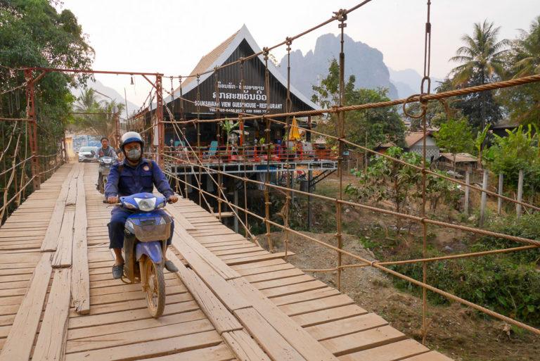 Vang Vieng w Laosie