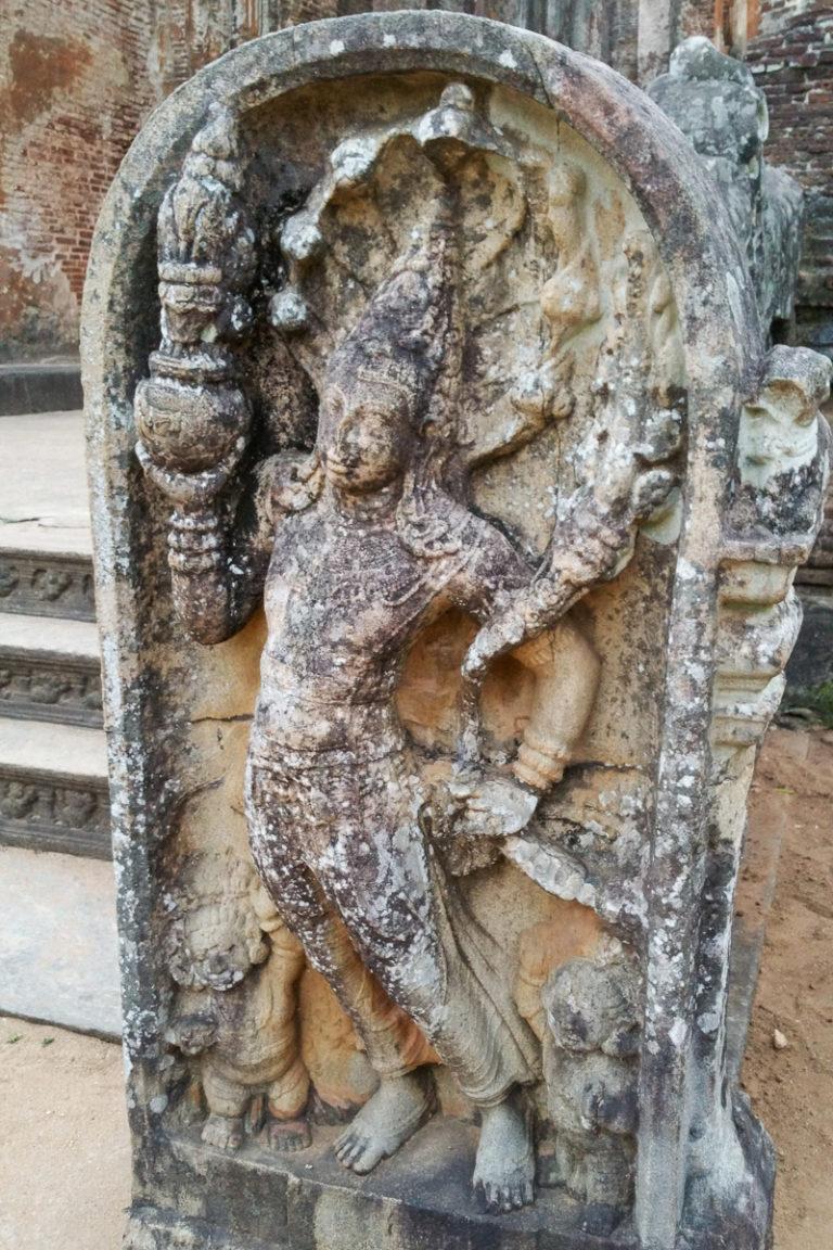 Mura Gala w Polonnaruwa na Sri Lance