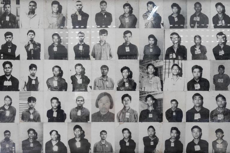 więzienie S-21 Tuol Sleng w Phnom Penh