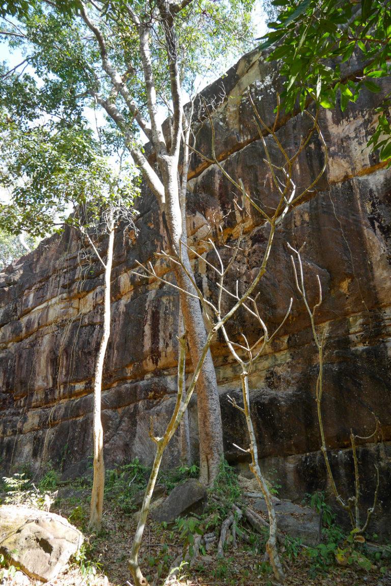 Laos, Kampaeng Yark Wielka Ściana niedaleko Thakhek