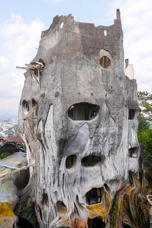 Szalony Dom w Dalat w Wietnamie