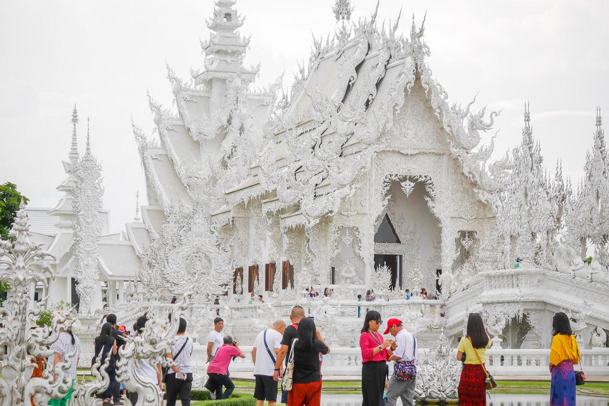 Wat Rong Khun w Chiang Rai