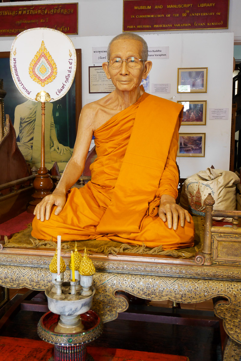 mnich z wosku
