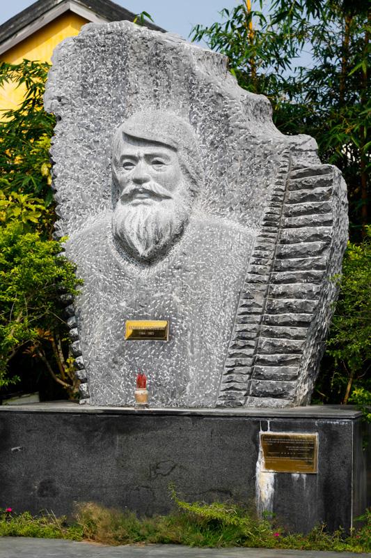 Wietnam, Hoi An, pomnik Kazimierz Kwiatkowski