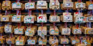 Japonia, tabliczki wotywne ema