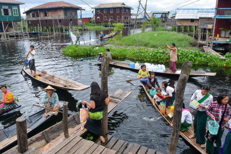 Most Maing Thauk w Birmie