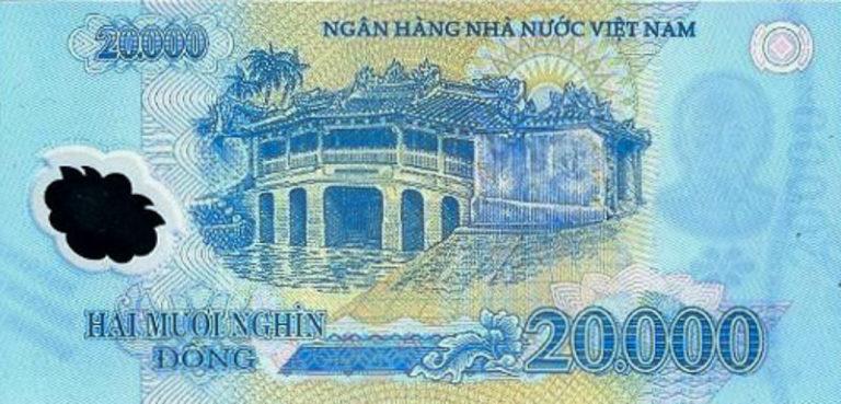 Banknot wietnamskie dongi