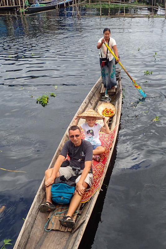 Inle Lake w Birmie