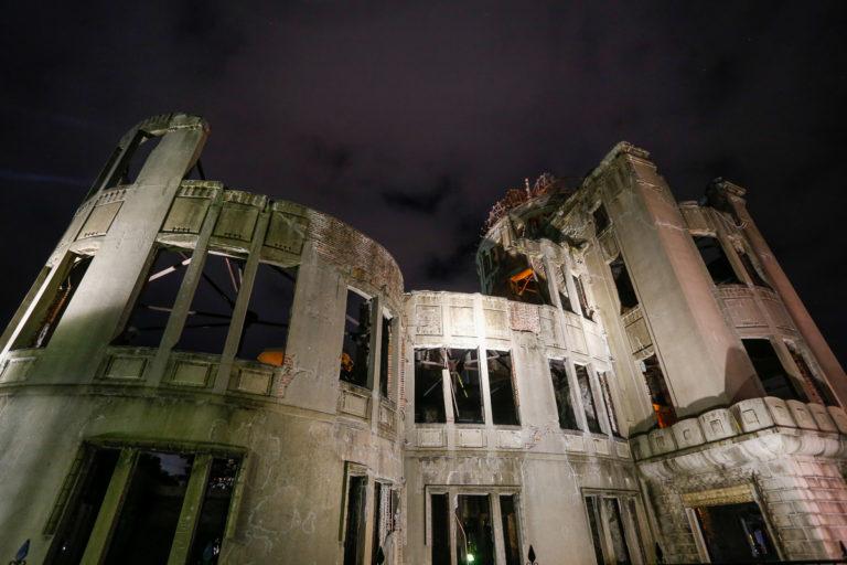 ruiny Genbaku Dome, czyli Kopuła Bomby Atomowej