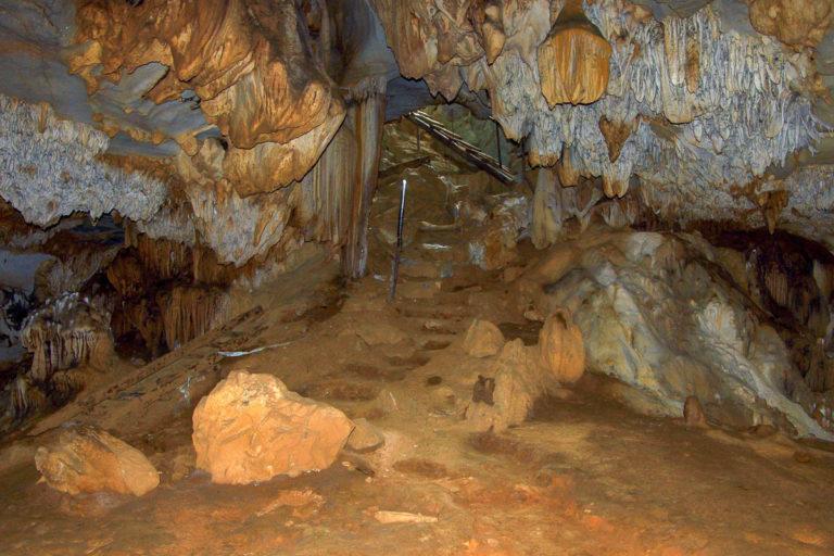 Wyjście z jaskini Loup