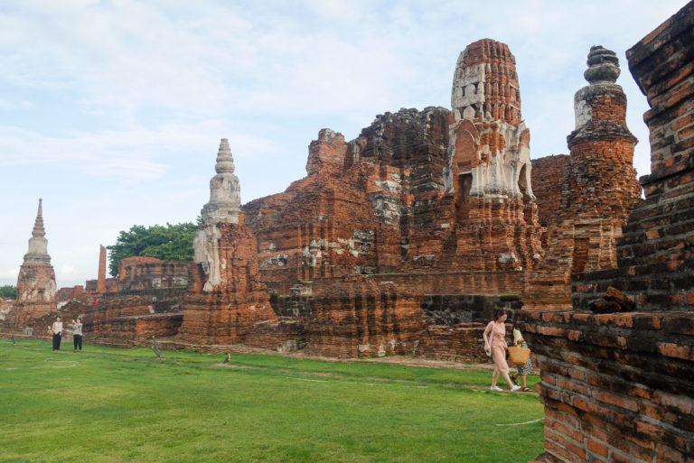 Pozostałości po głównej wieży