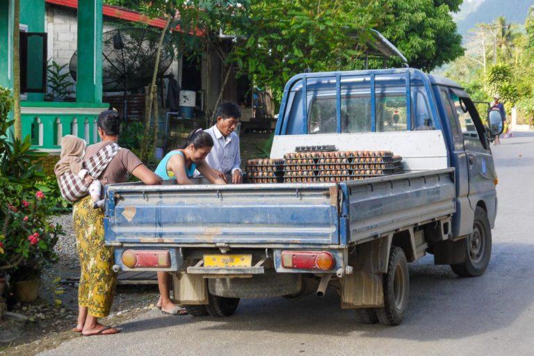 Mieszkańcy Vang Vieng