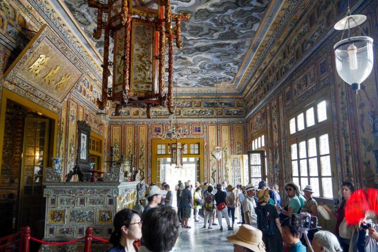 Niezwykłe dekoracje w mauzoleum