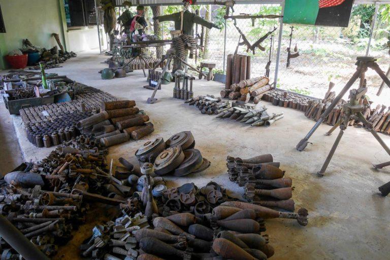 Muzeum Min Lądowych niedaleko Siem Reap