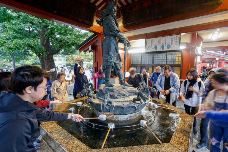 Świątynia Senso-ji w Tokio.