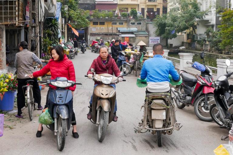 Dojazd do jeziora Huu Tie