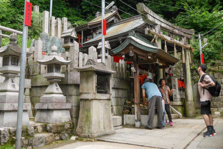 Świątynia Fushimi Inari w Kioto.