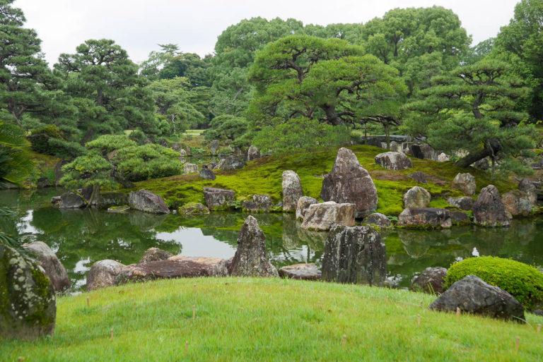Ogród japoński w Kioto