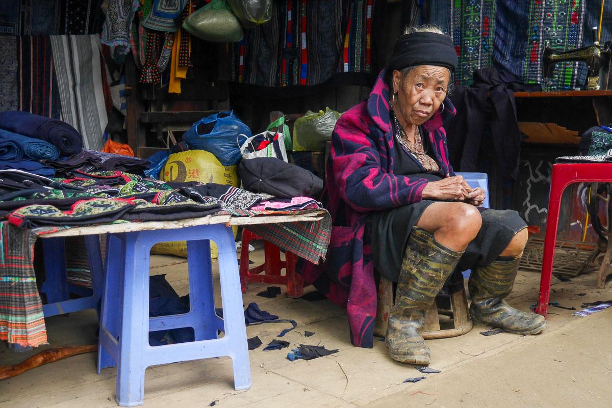 Sprzedawca w Sapa