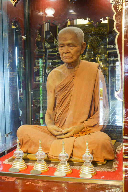 Ajahn Maha Bua - uczeń Phra Ajahna Mun Bhuridatty