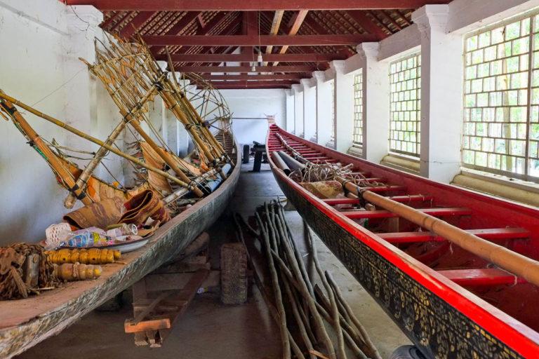 Łodzie - ważna część kultury Laosu