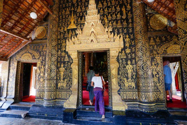 Wejście do świątyni Sim