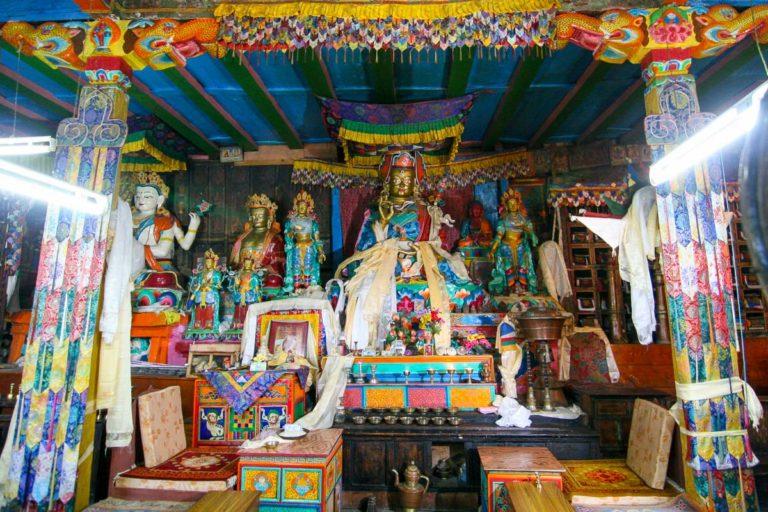 Klasztor w Khumjung w Nepalu