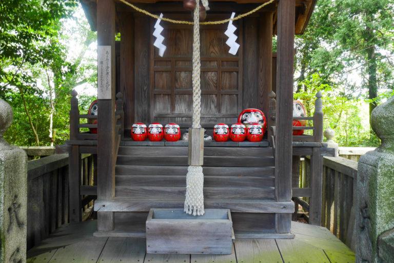 Daruma w świątyni Achi