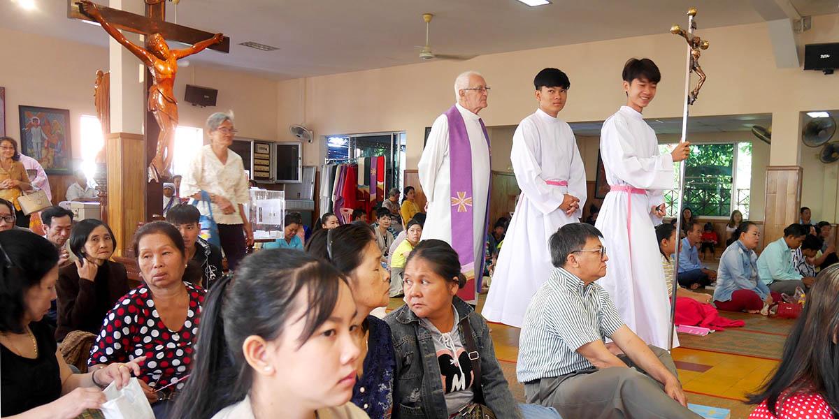 Msza w Phnom Penh