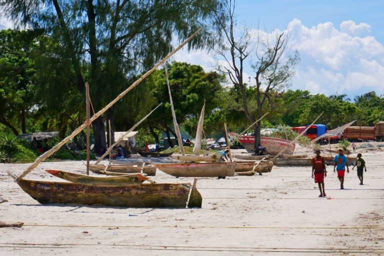 Plaża w Bagamoyo