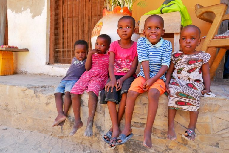 Dzieci w Bagamoyo
