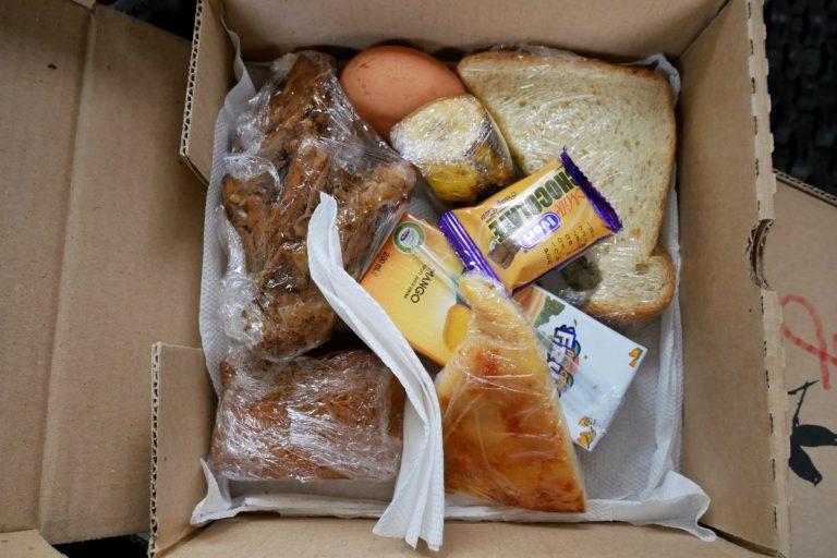 Lunch box, czyli obiad w czasie safari