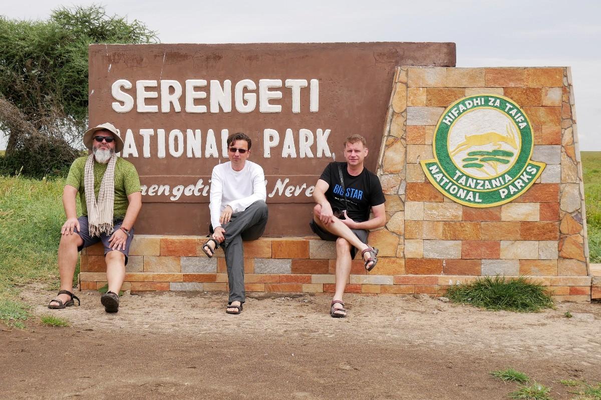 Wjazd do Parku Narodowego Serengeti