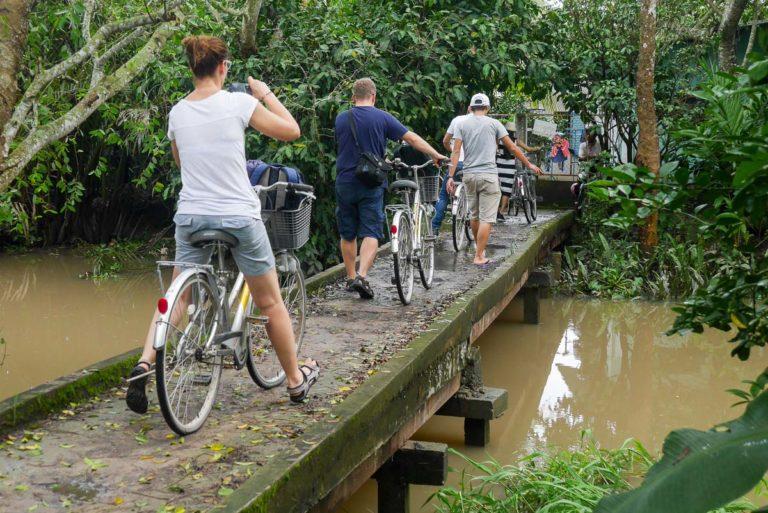 Trasa rowerowa na zachód od centrum Can Tho