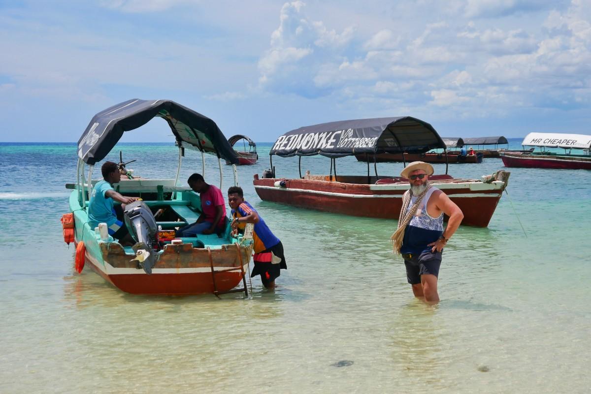 Szybki transport z Zanzibaru na Prison Island