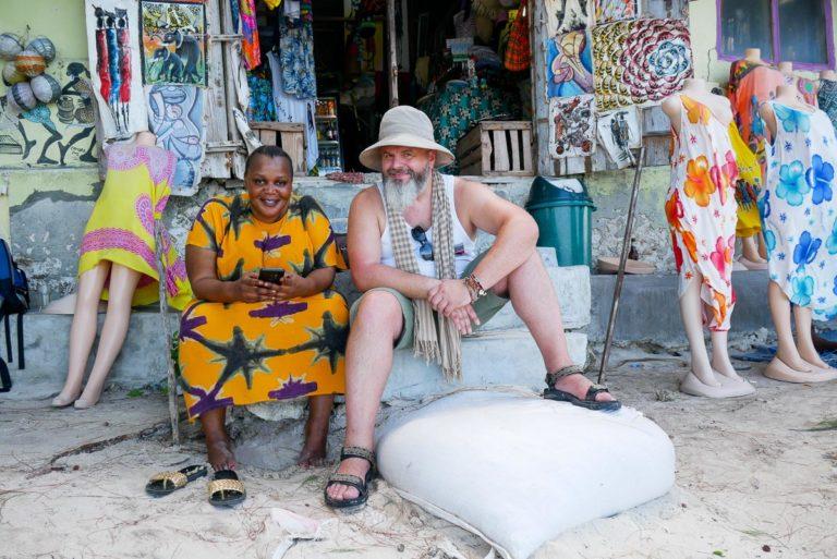 Mama Africa i Paweł - autor tekstu