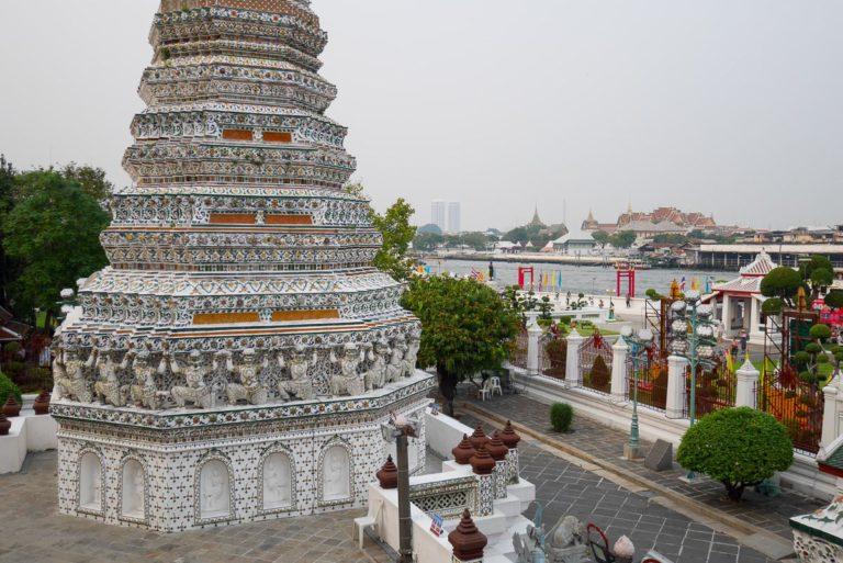 Widok na rzekę Chao Phraya