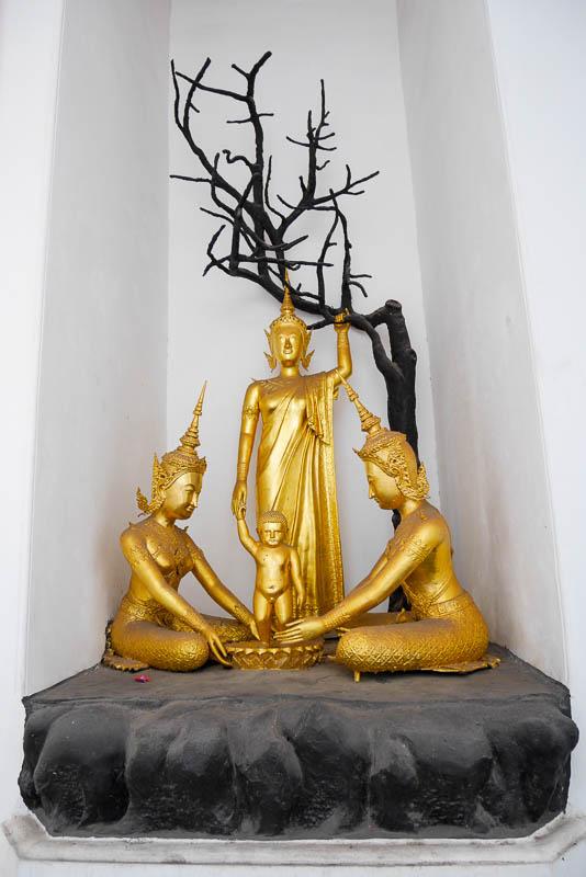 Rzeźba w Wat Arun