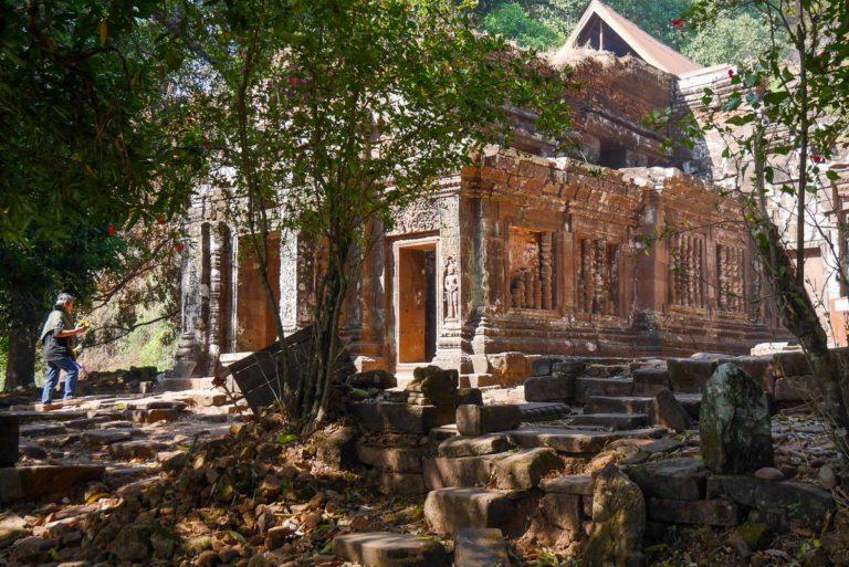 Główne sanktuarium Wat Phou