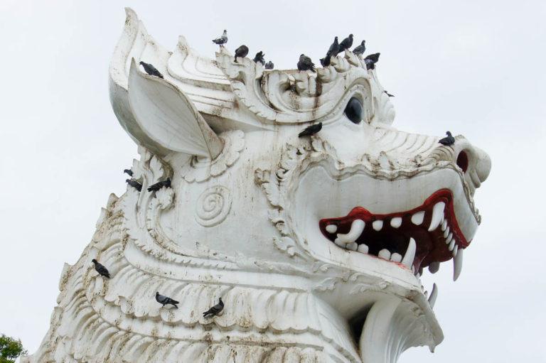 Głowa Chinthe - Mandalay