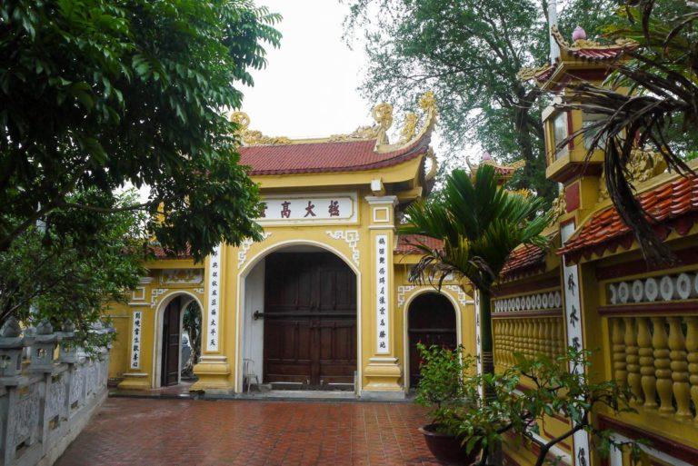 Wejście do świątyni Tran Quoc